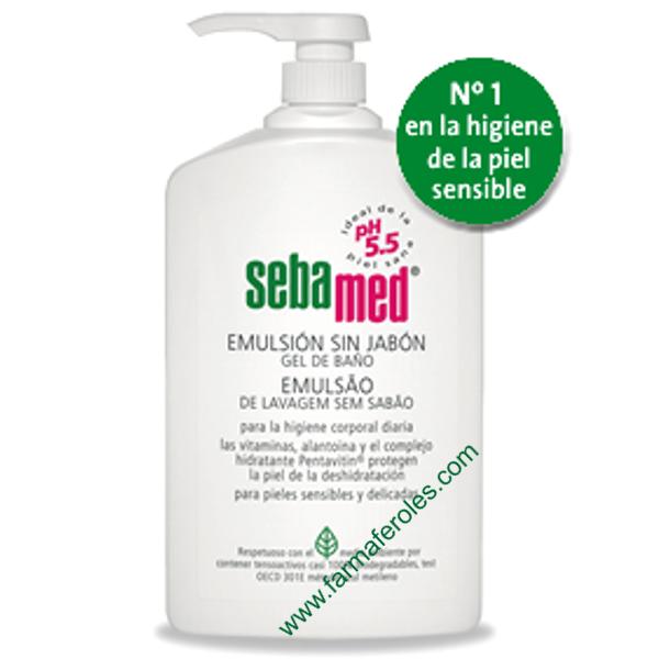 Sebamed emulsion sin jab n 1000 ml gel de ba o piel - Gel de bano sin productos quimicos ...