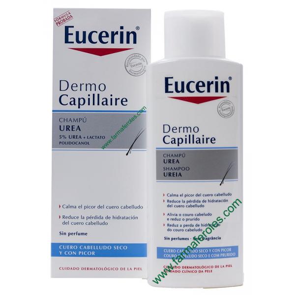 Eucerin DermoCapillaire Champú Urea 250ml Piel Seca / Picor