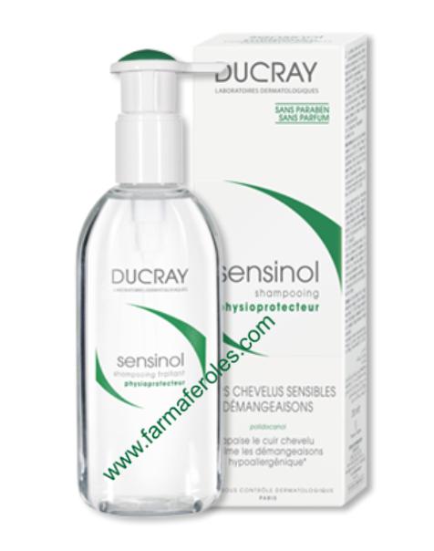 Ducray Sensinol Champú Tratante Fisioprotector 200ml Sin Picor