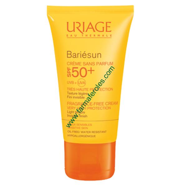 Uriage Bariesun SPF50+ Crema Protección Solar Sin Perfume 50ml