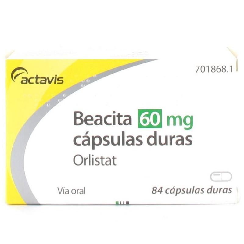 Orlistat aurovitas 120 mg 84 capsulas