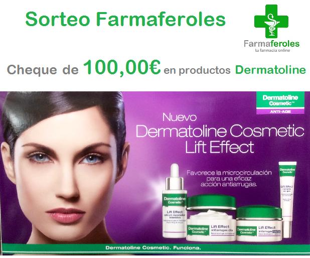 ¡Sorteamos un Cheque Regalo de 100,00 € en productos Dermatoline!