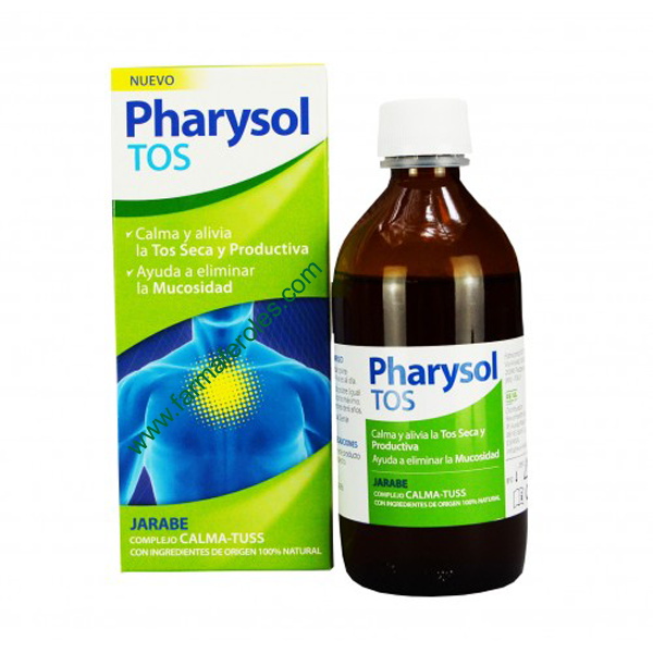 Pharysol Tos Jarabe Alivia Y Calma La Tos Seca Y Productiva Farmaferoles