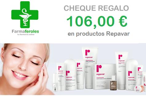 ¡Sorteamos un Cheque Regalo de 106,00 € en productos Repavar!