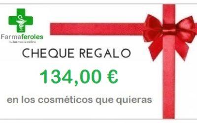 Escribe una reseña en Google y participa en el sorteo de un cheque regalo de 134,00€.