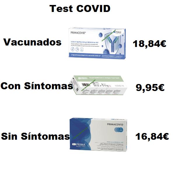 ¿Qué Test Covid es mejor?